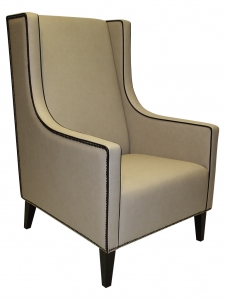 Ohrensessel moderne form  Wing chair for Hotels and gastronomy